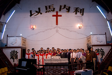 西安の教会