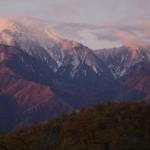 早朝の甲斐駒ヶ岳